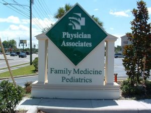 Attractive Outdoor Monument Sign for Your Practice